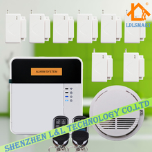 Smart Home Safty Guard Mobile APP Controlled Security Alarm System Wireless GSM Burglar for Home/Office(China)