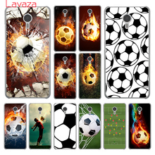 Fire Football Soccer Ball Hard Phone Cover Case Meizu U10 U20 Pro 6 M2 M3 M3S M5 M5S Mini & Note - BEST phone case store