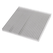 1 piece Silver 80x80x7mm Aluminum Heat Sink Radiator Heatsink for IC LED Cooling, Electronic Cooler, Chipset heat dissipation