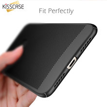 KISSCASE Ventilation Case For Xiaomi Redmi 4X 3 4A Note 4X 4A For Xiaomi mi6 5S Hollow Breathable PC Phone Cover For Xiaomi 5S S