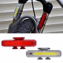 1 Set Bicycle Bike Front Rear Tail LED Light Mini Taillight USB Rechargeable
