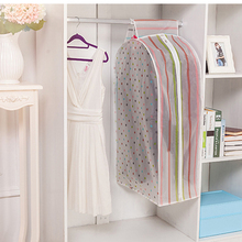 Vacuum Storage Bag Garment Suit Coat Clothes Dust Cover Protector Hanging Closet Wardrobe Organizer Dustproof Clothing Organiser