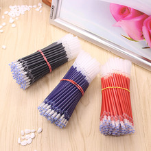 20 PCS/lot Neutral Ink Gel Pen Refill Neutral Pen Good Quality Refill Black Blue Red 0.5mm Bullet Refill Office And School(China)