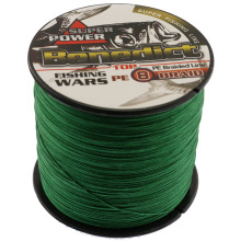 300M Japan Multifilament PE Braided Fishing Line spectra green fishing tool super strong fishing braid 8 weaves fishing wires(China)
