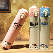 304 Stainless Steel High Quality Hello Cats Kitty Cartoon Theme Thermos Doraemon Cute Children Water Cup Out Door Tools