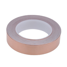 Homeland 25mm*30M 50mm*10m Copper Foil Tape For Electric Guitar, Transformer, Mobile Phone, Computer, PDA, PDP, and LCD Monitor(China)