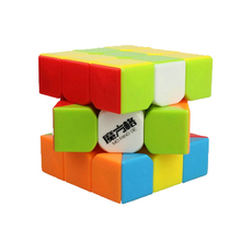 MOFANGGE 3*3*3 Smooth Speed No stickers Fidget Cube Puzzle Brain Teaser Magic Cube Toys with Cube Bag