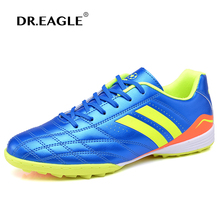 DR.EAGLE Man Football Shoes for Kids Soccer Boots Children Boys Footbal Shoes boot Superfly Futsal shoes Soccer Cleats