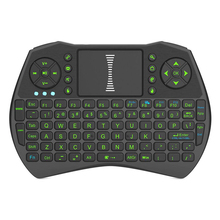 2.4GHz Wireless Keyboard Backlit Air Mouse Touchpad Handheld Remote Control Backlight for Android TV BOX Smart TV PC Notebook(China)