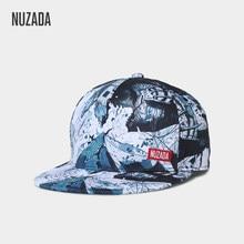 NUZADA Impresión Digital HD gorra de béisbol para hombres mujeres pareja Snapback  marca hueso diseño sombreros estilo Original G.. 7a225f7e911