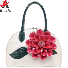 Atrra-Yo women leather handbags designer women handbag messenger bags 2016 retro flower bolsas women's bag summer style LM3028ay