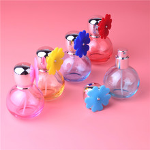 1Pcs 30ML Refillable Bottle Travel Portable Empty Perfume Bottle Glass Atomizer Bottle For Spray Scent Pump Diamond Cover(China)