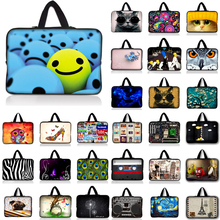 "Smile laptop notebook case sleeve bag For 7 10 12 13 14"" 15 15.6 17 inch Computer Netbook For Asus HP Acer Lenovo"