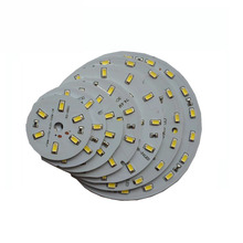 10X High quality 12V input 5730SMD 3~21W round LED light board free shipping(China)