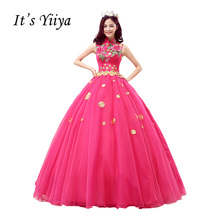 Buy Vestidos De Novia Free Plus Size Wedding Dresses Roes Red Wedding Ball Gowns Real Pictures Wedding Bridal Frocks MHL002 for $69.35 in AliExpress store