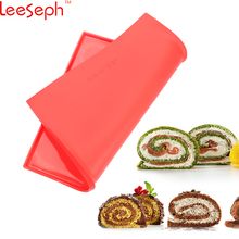 Leeseph Premium Silicone Non-stick Healthy Cooking Baking Mat & Chicken Wing and Cake Roll Maker,  Pizza Pan, Pastry Pad