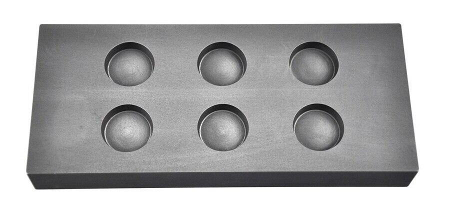 Graphite Ingot  mold for 1oz Gold  refinging casting    /Gold melting graphite mold ,FREE SHIPPING<br>