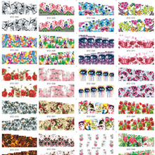 1sheet Optional 2017 Nail Sticker Water Transfer Cartoon/Flower/cat/Animal DIY Tip Nails Beauty Manicure Decals  STZ249-282