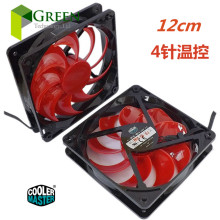 The original Cooler Master 12025 120MM 12cm Computer case CPU Cooling fan 12V 0.32A fan with PWM 4pin(China)