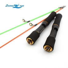 High Quality 75cm 85cm Fishing Spinning Rod Carbon Fiber Feeder Fishing Rods Winter Fishing Tackle Free shipping(China)