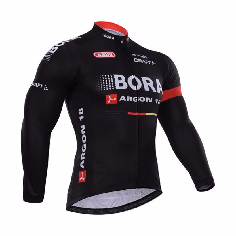 HOT team Black Bora Cycling jersey bike winter thermal fleece long sleeve bike clothing MTB bicycling maillot Culotte<br><br>Aliexpress