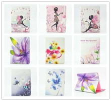 10 colors Fashion Luxury Butterfly Flower Fairy Crystal Folio Leather Case Stand Smart Cover For Apple iPad Air 2 ipad 6