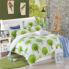 Tree Pattern 3PCS/set 100% Cotton Bedding Sets Duvet Cover King/Queen/Twin/Full/Single/Double Size Bedspread Home Textile