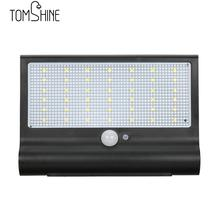 Tomshine 42LEDs Solar-powered Sensitive Motion Activated Light Control Wall Lamp Waterproof Night Light for Outdoor Patio Garden(China)