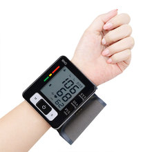 Digital Automatical LCD Wrist Blood Pressure Monitor Arterial Pressure Automatic Blood Pressure Tonometer 1pc