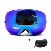 BENICE New Design Anti-fog Snow Glasses/UV- Protection Multi-Color/ double lens Snowboard Skiing Goggle