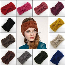 DHL/FedEx  Fashion Corn Women Headband Warm Knitted Headbands For Women Crochet Turban Headband & Winter Head wrap Women 100 pcs