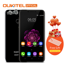 "Oukitel U20 Plus 5.5"" Smartphone 2G RAM+16G ROM Fingerprint MTK6737T Quad Core Dual Camera 13MP 3300mAh Android 6.0 Mobile Phone(China)"