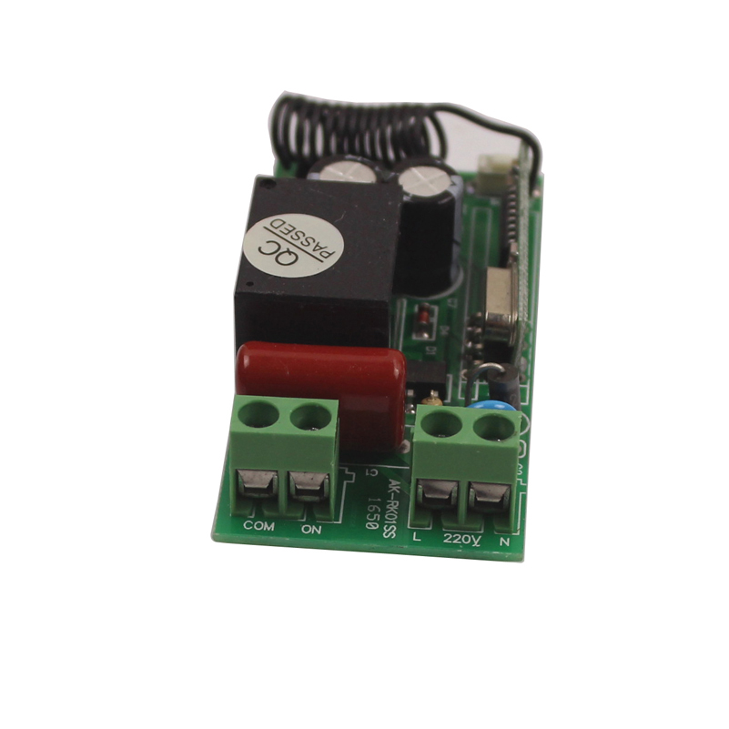 433Mhz Universal Wireless Remote Control Switch 220V Relay Receiver Module 315433 Mhz Remote Controls 110V Switch-6