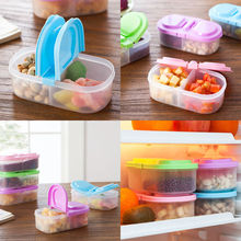 1pc Portable Microwave Bento Food Container Storage Picnic Lunch Box 4 Colors