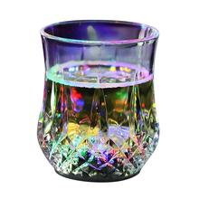 7 Colors Flash Light Up Cups Flashing Shots Light LED Sensor Light Up Drinkware For Bar Night Club Party(China)