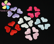 SALE!35mm Multi colors option Sponge Heart Shape wedding celebration party decoration accesories 12pcs/lot  043007004