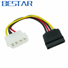 Hard Disk IDE to Serial ATA SATA II 15 Pin Power supply Cable connector converter 10cm SATA IDE adapter(China)