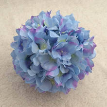Inner dia.10cm Outside dia.23cm Watercress hydrangea wedding kissing flower ball decoration 4pcs/lot FREE SHIPPING