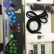 high quality with 645 in 1 multi game arcade box Upgraded Version Arcade game box with VGA and HDMI wires
