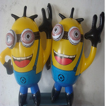 10pcs free shipping Inflatable Animal  Inflatable Toys Inflatable Banana Yellow Person Children Toy Wholesale