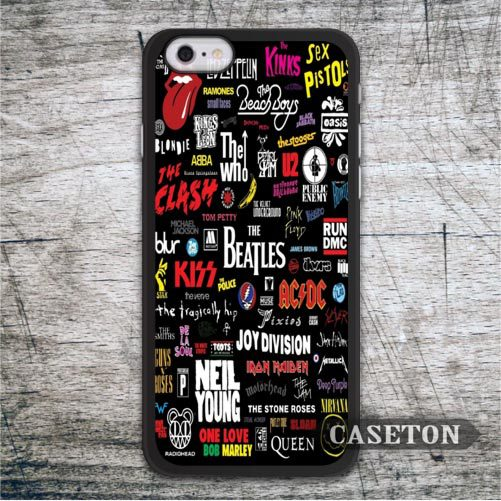 Classic Music Bands font b Case b font For iPod 5 and For font b iPhone