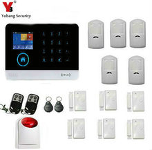 YobangSecurity 3G WCDMA/CDMA WIFI Alarm System Support English/Dutch Voices WIFI Home Security Burglar Alarm System(China)