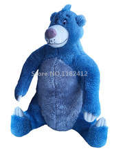 Jungle Book Baloo Stuffed Bear Plush Toy Wild Animals 35cm 14'' Cute Soft Baby Kids Toys for Children Gifts(China)