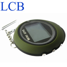 Free shipping Dropshipping 2pcs/lot Handheld Keychain Mini GPS data logger USB Rechargeable For Outdoor Sport(China)