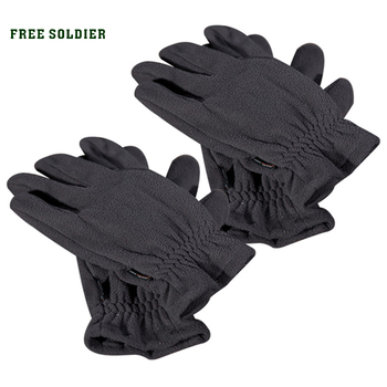 FREE SOLDIER утепленные перчатки из флисовой ткани Перчатки, предназначенные как для мужчин, так и для женщин. Незаменимые для прогулок хлопчатобумажные перчатки Локальная доставка