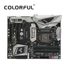 Colorful iGame Vulcan X Intel Z370 LGA 1151 DDR4 SATA 6Gb/s Motherboard ATX Motherboard 2 M.2 Front USB3.0 2-Way SLI Pro Gaming(China)
