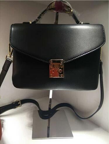 2017 hot selling new fashion women handbags high quality pu metis bag free shipping<br>