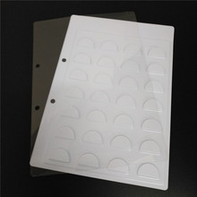 10 sets Eyelashes display card 14pairs in 1 false lashes sample catalogues package white tray with transparent sheet