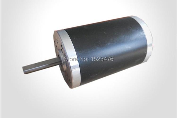 12V 24V 48V  4000rpm 100mN.m  65W 52MM Permanent Magnet Brush DC Motor  52ZYT01A<br>