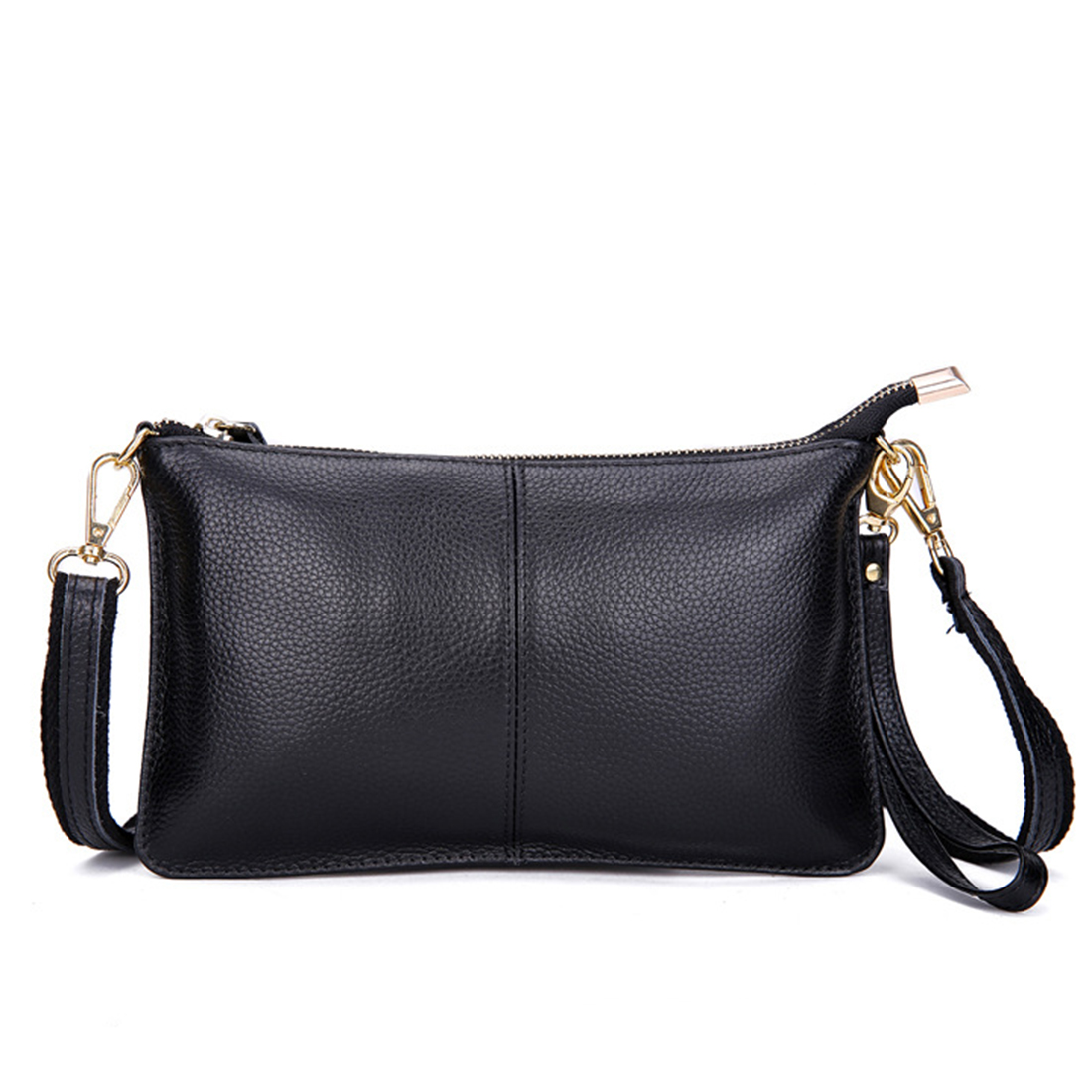 New arrival Women Clutch Bags first layer of Genuine leather small Shoulder Bag women Causal Crossbody Bags Handbags Bolsas<br>